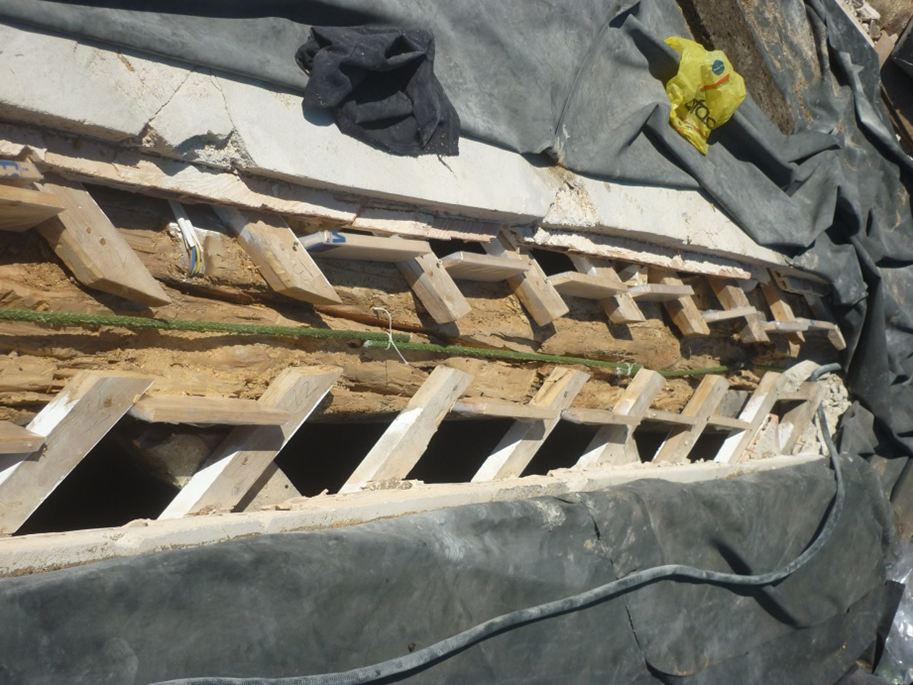 rehabilitacio jassera fusta rehabilitacion viga madera